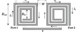 Design of multilevel pyramidically wound symmetric inductor for CMOS RFIC's